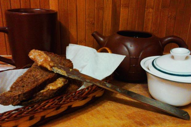 Арахисовая паста с медом