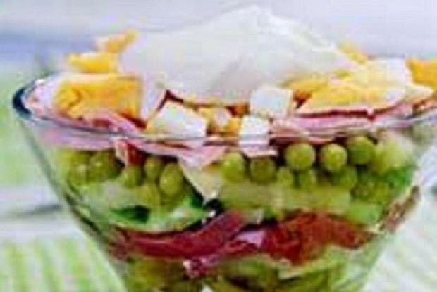 Салат праздничный картофельный