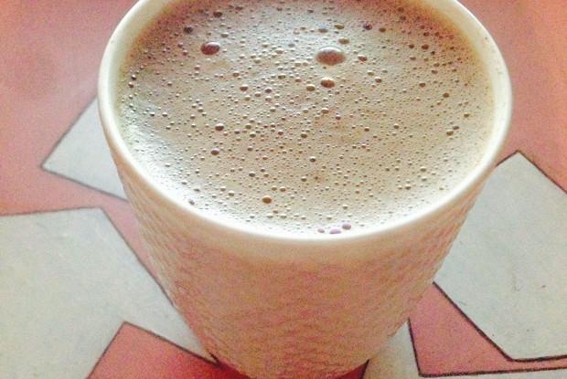 Шоколадно-орехово-кофейный напиток