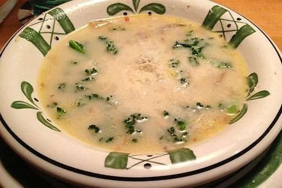 Тосканский суп с колбасками и говяжим фаршем