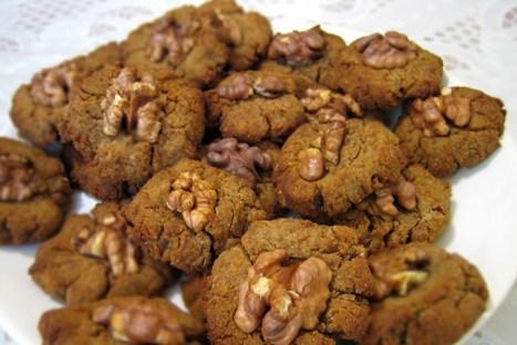 Шоколадное гречневое печенье