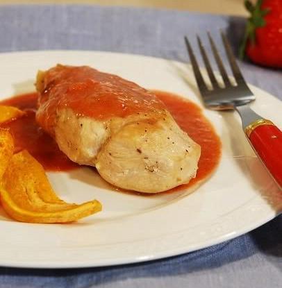 Курица в медово-апельсиновом маринаде