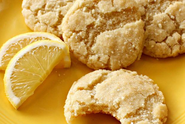 Постное (веганское) лимонное печение