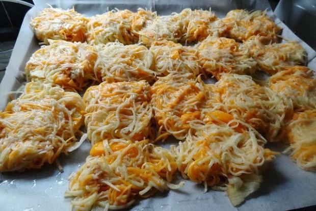 Драники из картофеля и тыквы в духовке