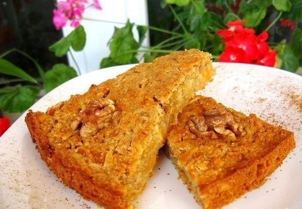 Пирог из геркулеса «Утро»