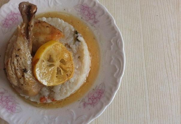 Курица с лимоном и медом от Гордона Рамзи