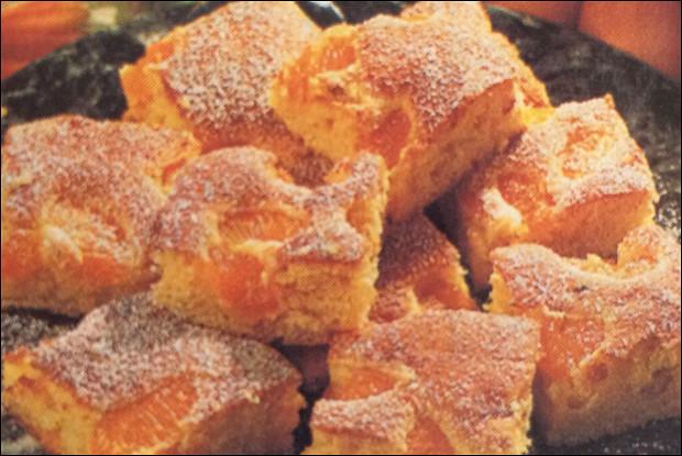 Пирог с консервированными мандаринами