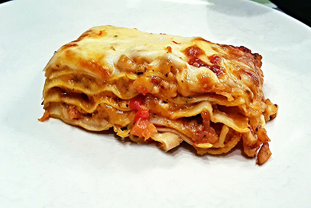 Лазанья с морепродуктами (Lasagne al ragu di mare)