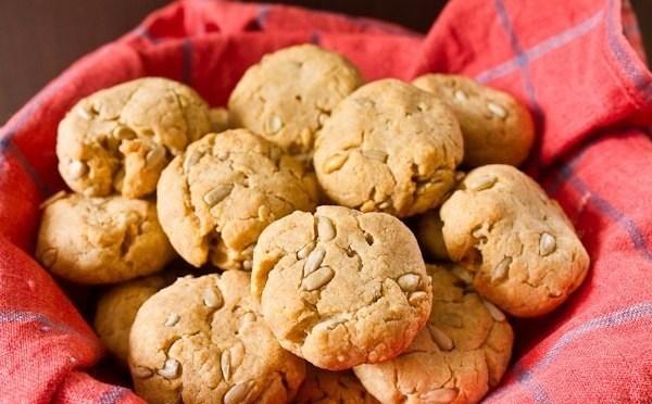 Картофельное печенье с семечками