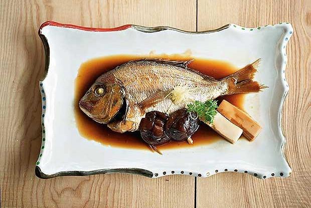 Японская дорада с соусом нитцуке