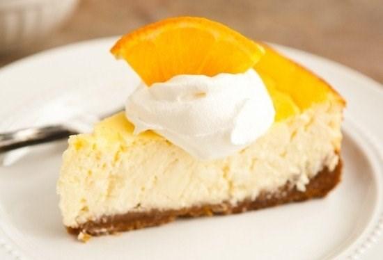 Творожник с апельсином