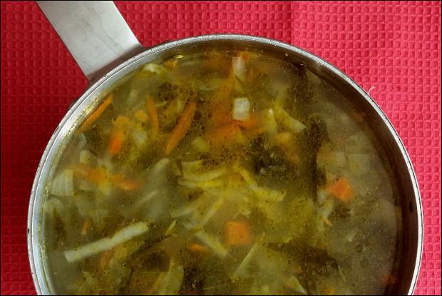 Щавелевый суп с крапивой «Минестроне а-ля рус»