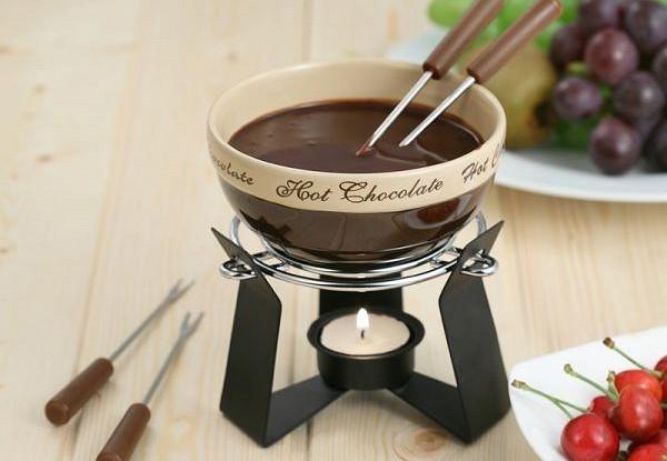 Шоколадное фондю в мультиварке
