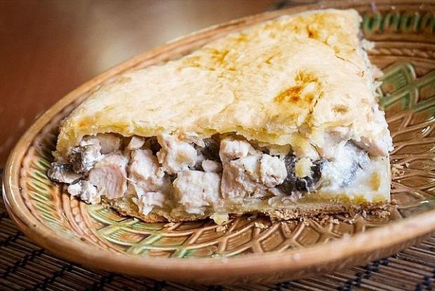 «Голубиный пирог» из курицы