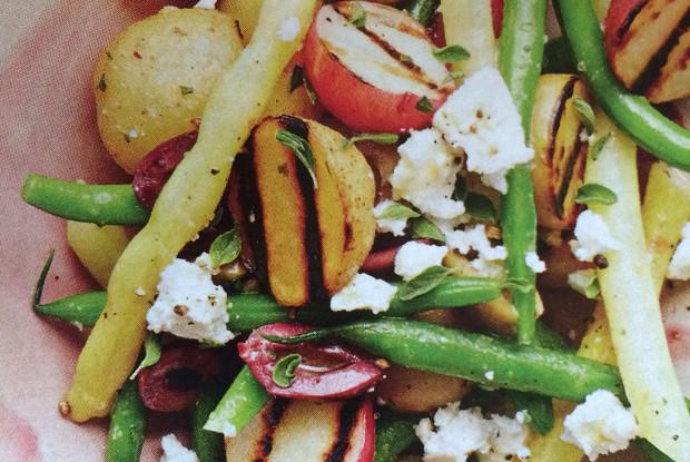 Салат с сыром и картофелем