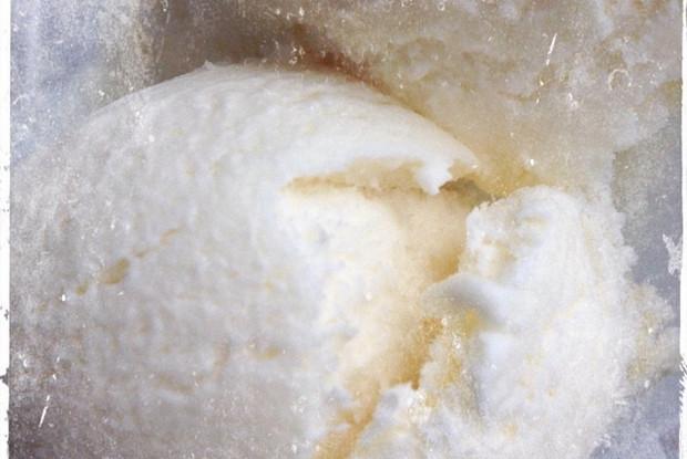 Ванильное мороженка