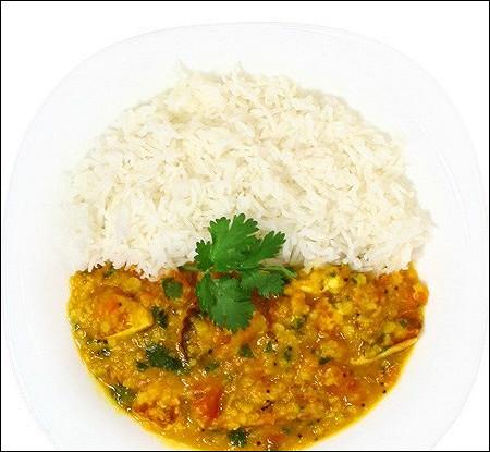 Чечевичный соус к рису