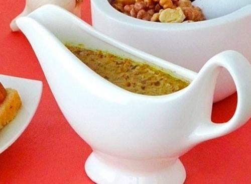 Ореховый соус с чесноком