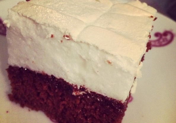Домашний торт «Птичье молоко» с яйцами