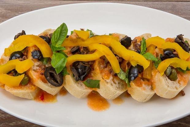 Сицилийский овощной салат от Арама Мнацаканова