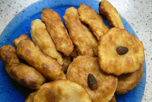 Печенье из манки по-алжирски