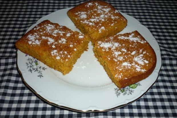 Морковный кекс с ароматом меда