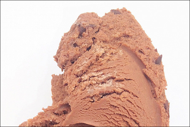 Тройной шоколадный замороженный йогурт