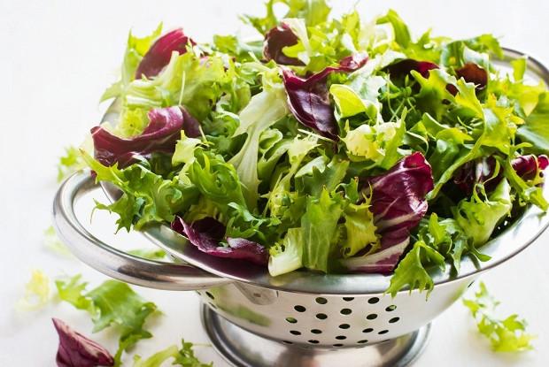 Салат микс с латуком