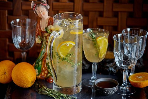 Лимонад  с травяным сбором