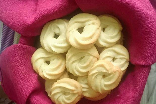 Датское печенье с ванилином
