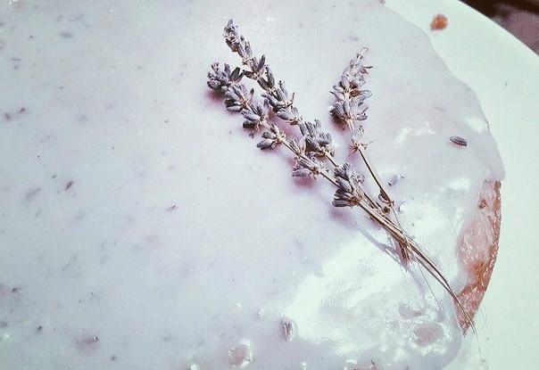 Лавандовый кекс