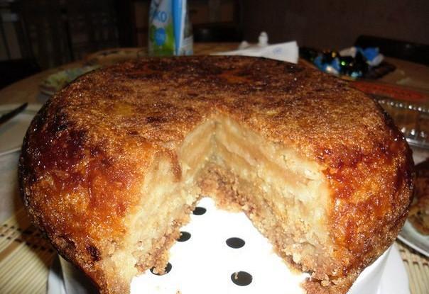 Насыпной яблочный пирог «Венгерский»