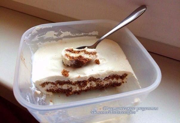 Творожно-желатиновый десерт