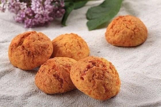 Морковное печенье с овсяными хлопьями