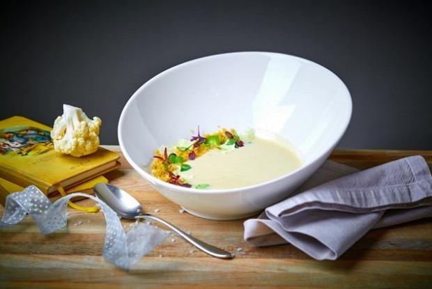 Суп из цветной капусты от шеф-повара Михаила Кукленко