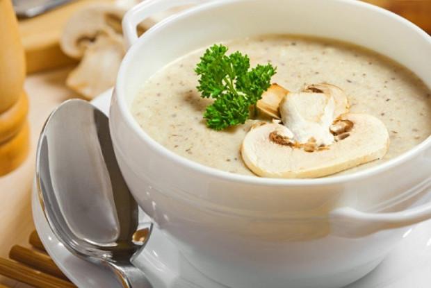 Суп крем из шампиньонов.