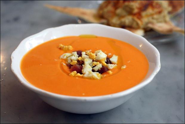 Сальморехо - холодный андалузский суп