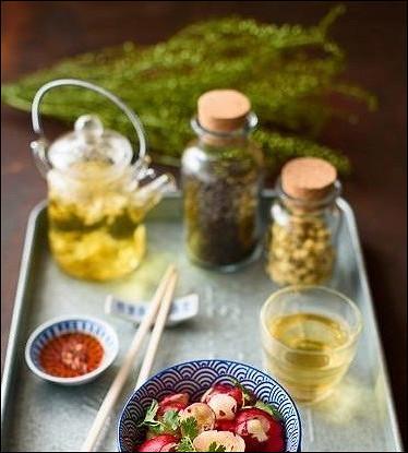 Китайский острый салат из редиса