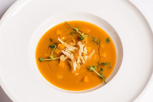 Крем-суп из тыквы от Жереми Урюти