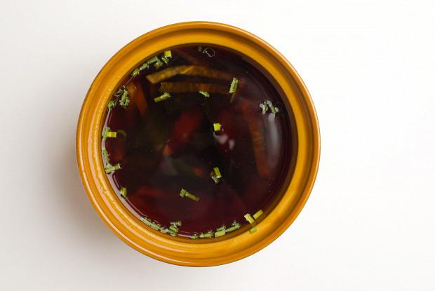 Мисо-суп с дайконом