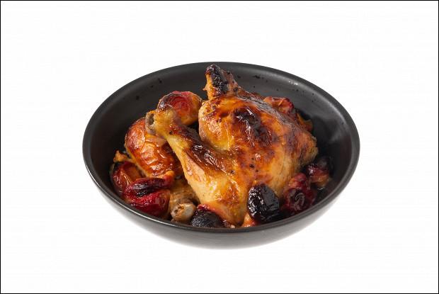 Курица со сливами