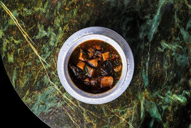 Суп из микса белых грибов