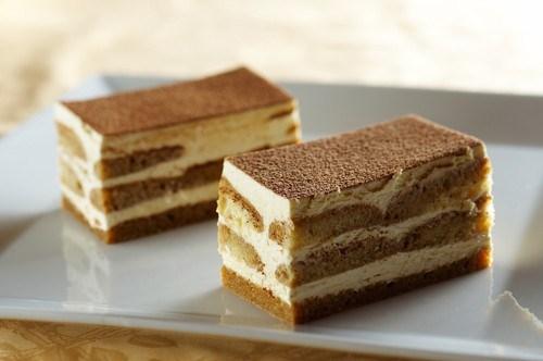 Быстрый имбирный торт с апельсиновым кремом