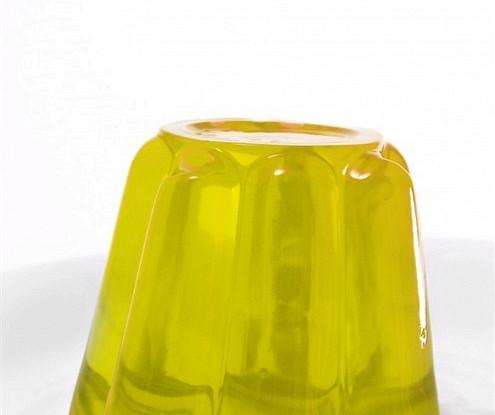 Лимонное желе с цедрой