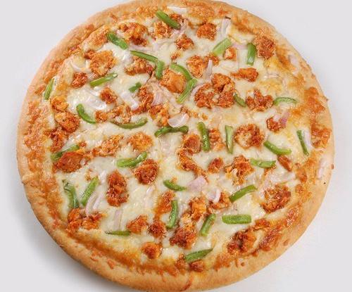 Пицца с курицей тикка