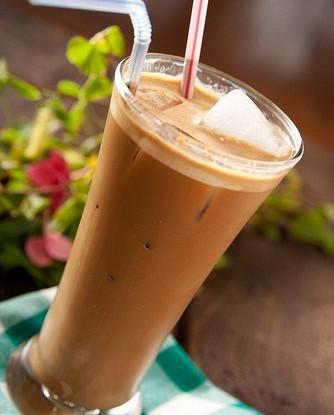 Ледяной кофе по-гречески