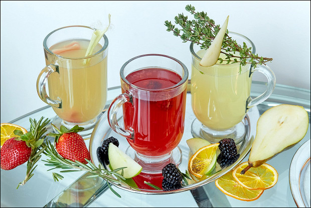 Безалкогольные коктейли «Стеклянная весна»