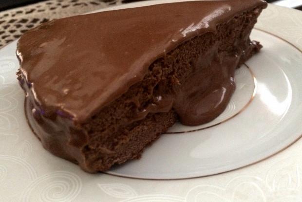 Шоколадный торт с какао