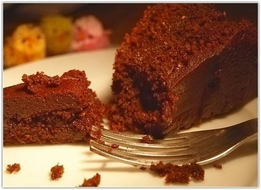 Торт с шоколадной пастой