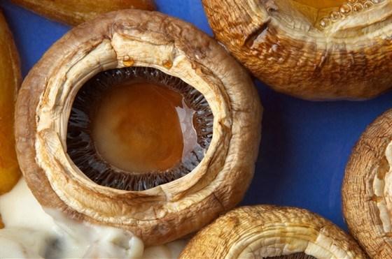Печеные грибы